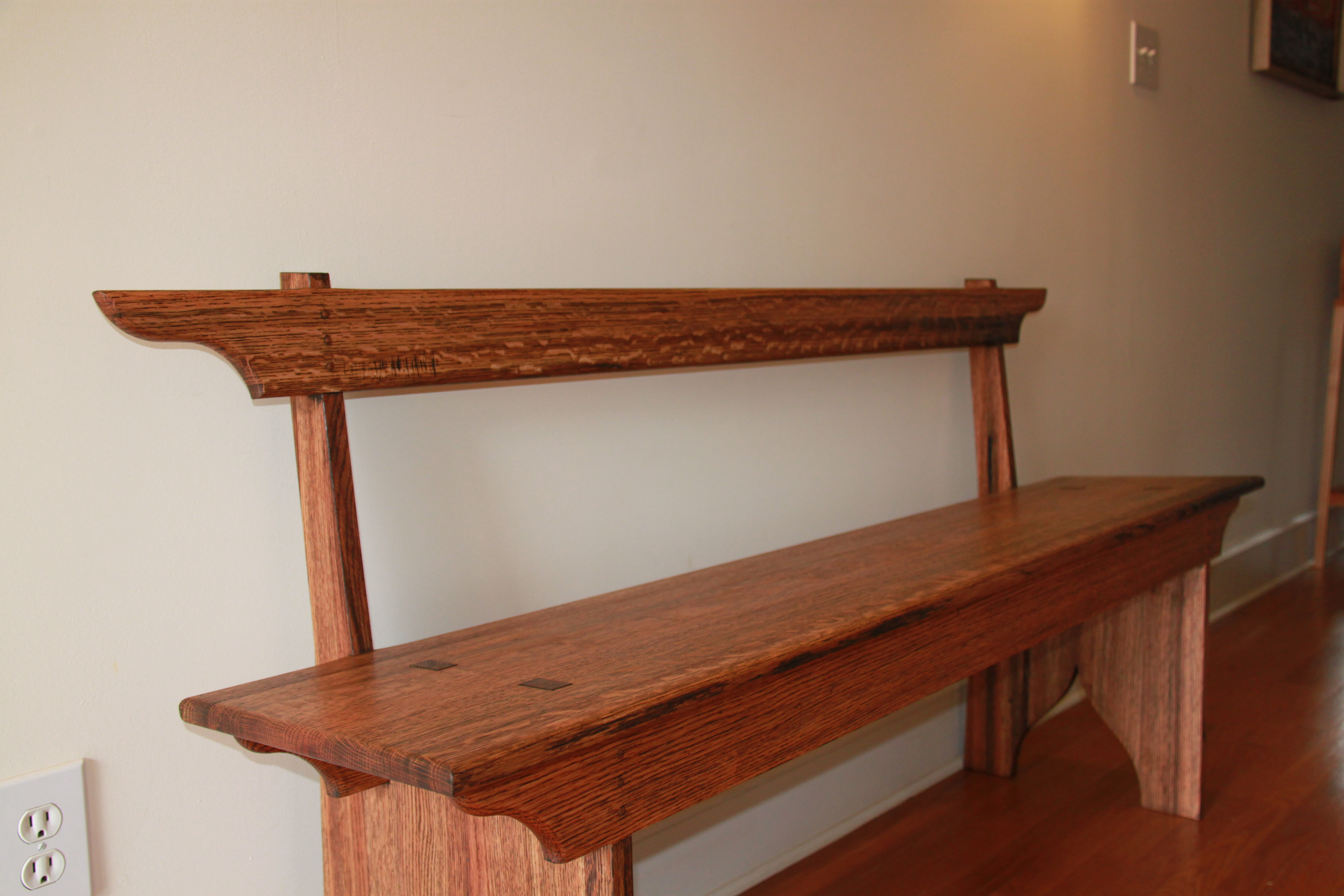 Bench Shaker Bench With Seat Back Eric Mckenna Designs